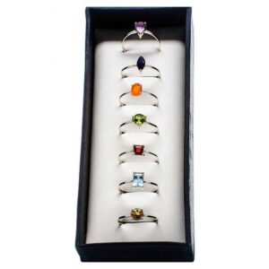 Top 5 Online Ring Stores Ana Silver Chakra Rings