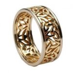 Filigree Celtic Wedding band