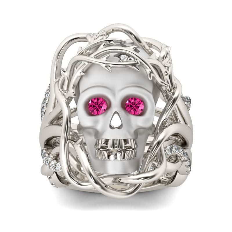 Halloween 2018 Skull ring from Jeulia