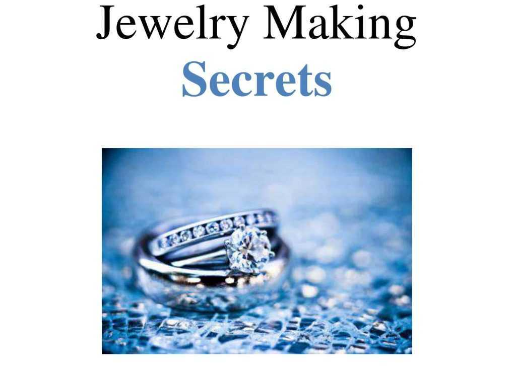 Jewelry Making Secrets