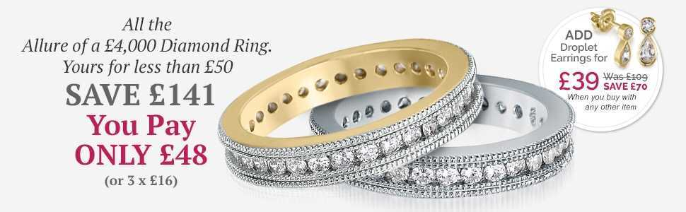 Tru Diamonds Eternity Ring Offer
