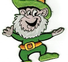Free leprechaun on Saint Patrick's Day