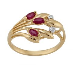 Ruby ring- The July Birthstone