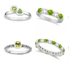 August Birthstone peridot